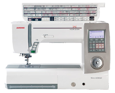 Janome Horizon Memory Craft MC8900 QCP Stitch Reference
