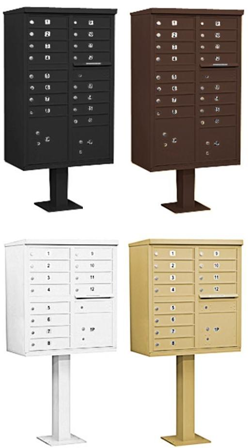 Cluster Box Units - CBU Mailboxes
