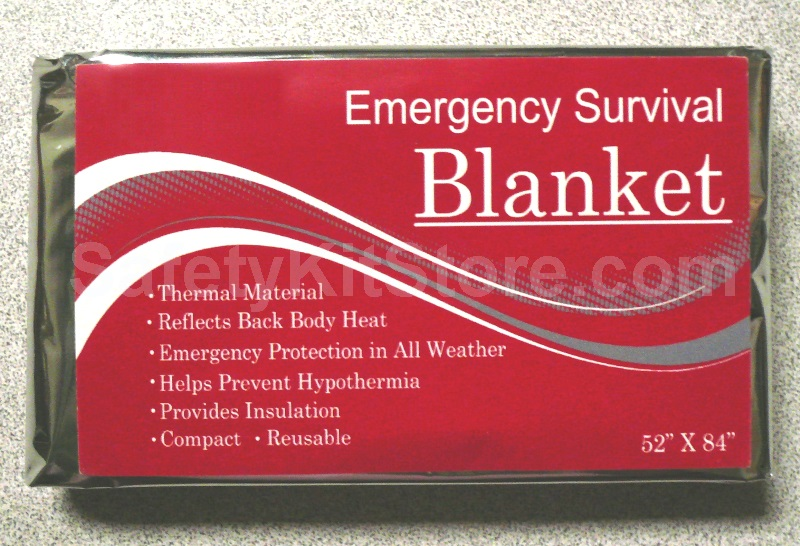 compact mylar emergency blanket