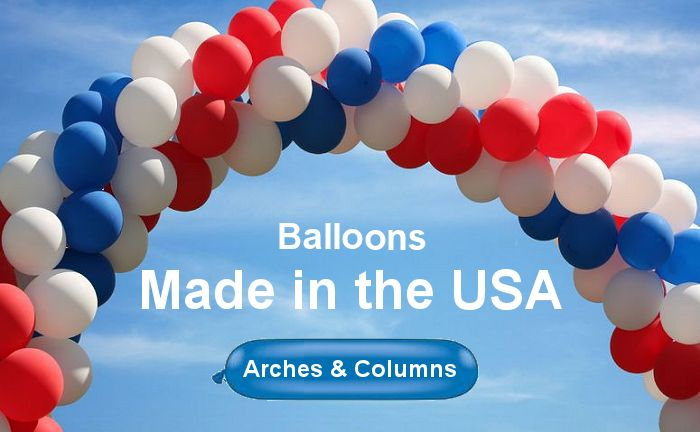 Kits to assemble balloon arches and balloon columns