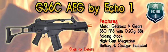Echo 1 G36C AEG Airsoft Rifle