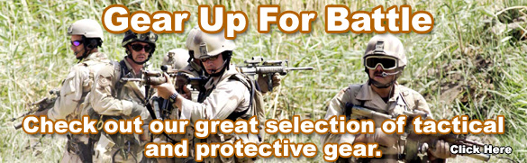 Gear up for battle with our tactical and protective gear