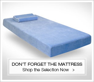 Don't forget the mattress
