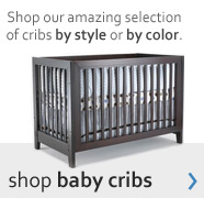 shop baby cribs by style or color
