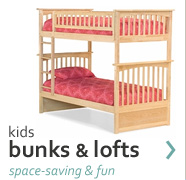 shop kids bunk & loft beds
