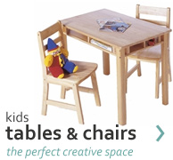 kids tables & chairs - the perfect creative space