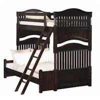 Twin over Double Bunk Bed by Young America