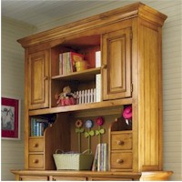 Young America myHaven Collection Large Hutch in Heart of Pine