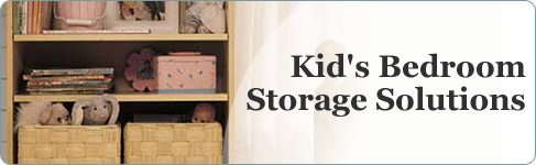 Kid�s Bedroom Storage Solutions