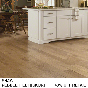Shaw Pebble Hill Hickory Hardwood Sale