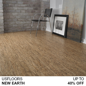 US Floors Cork New Earth Sale