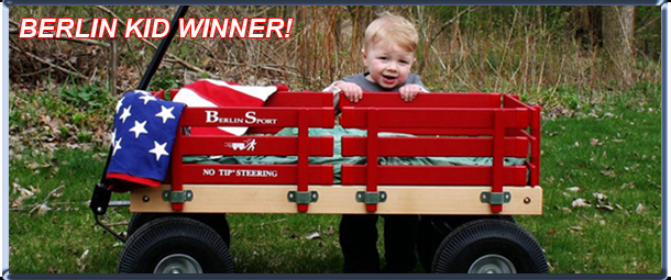 QualityToys.com's Berlin Wagon Kid Photo Contest Winner
