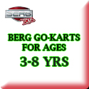 Berg Go-Karts for Ages 3-9 Junior Models