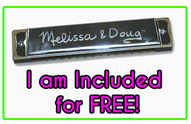 Free Harmonica with Melissa and Doug Grand Piano
