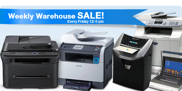 Weekly Warehouse SALE