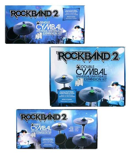 Rock Band 2 Wireless Drum Cymbal Expansion Kits