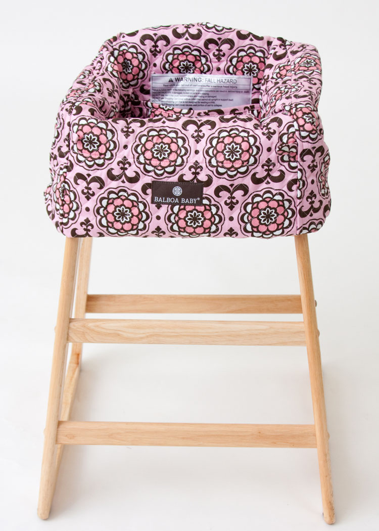 balboa baby shopping cart cover  pink floral - product description