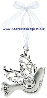 Blessing Birds Ornament - Cherish the beauty of life