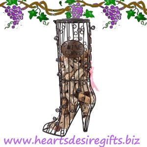 High Heel Boot Cork Cage