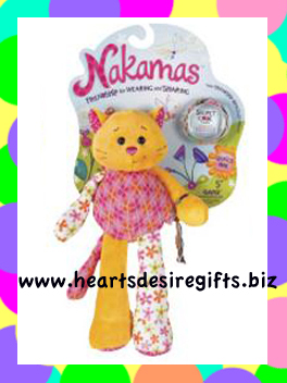 Ganz Nakamas Plush - Mia the Cat
