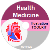 PowerPoint Drawing Toolkit Health & Medicine