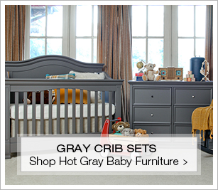 gray nursery furniture. Shop Hot Gray Cribs And Nursery Sets Furniture
