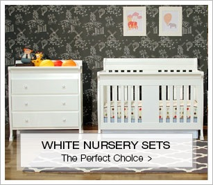 White Hot Nursery Sets