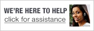 How can we help? Click for shopping assistance