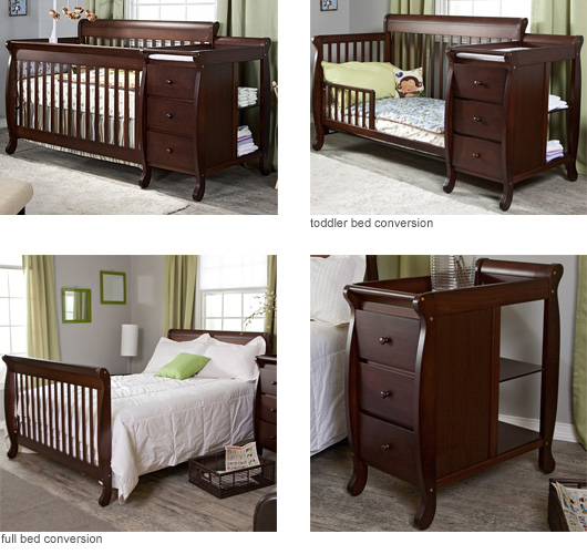 DaVinci Kalani Crib and Changer Combo