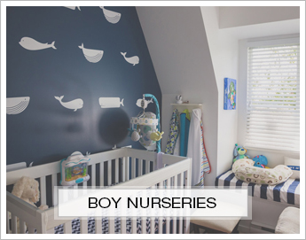 Boy Nursery Inspiration Boards