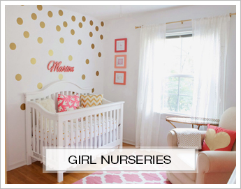 Girl Nursery Inspiration Boards