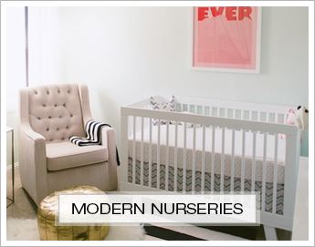 Modern Nursery Inspiration Boards