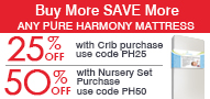 Great Deals on Pure Harmony Mattresses