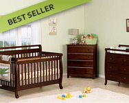 DaVinci Emily 3 Piece Nursery Set in Espresso