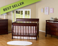 DaVinci Kalani 3 Piece Nursery Set in Espresso