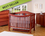 DaVinci Parker 3 Piece Nursery Set in Cherry