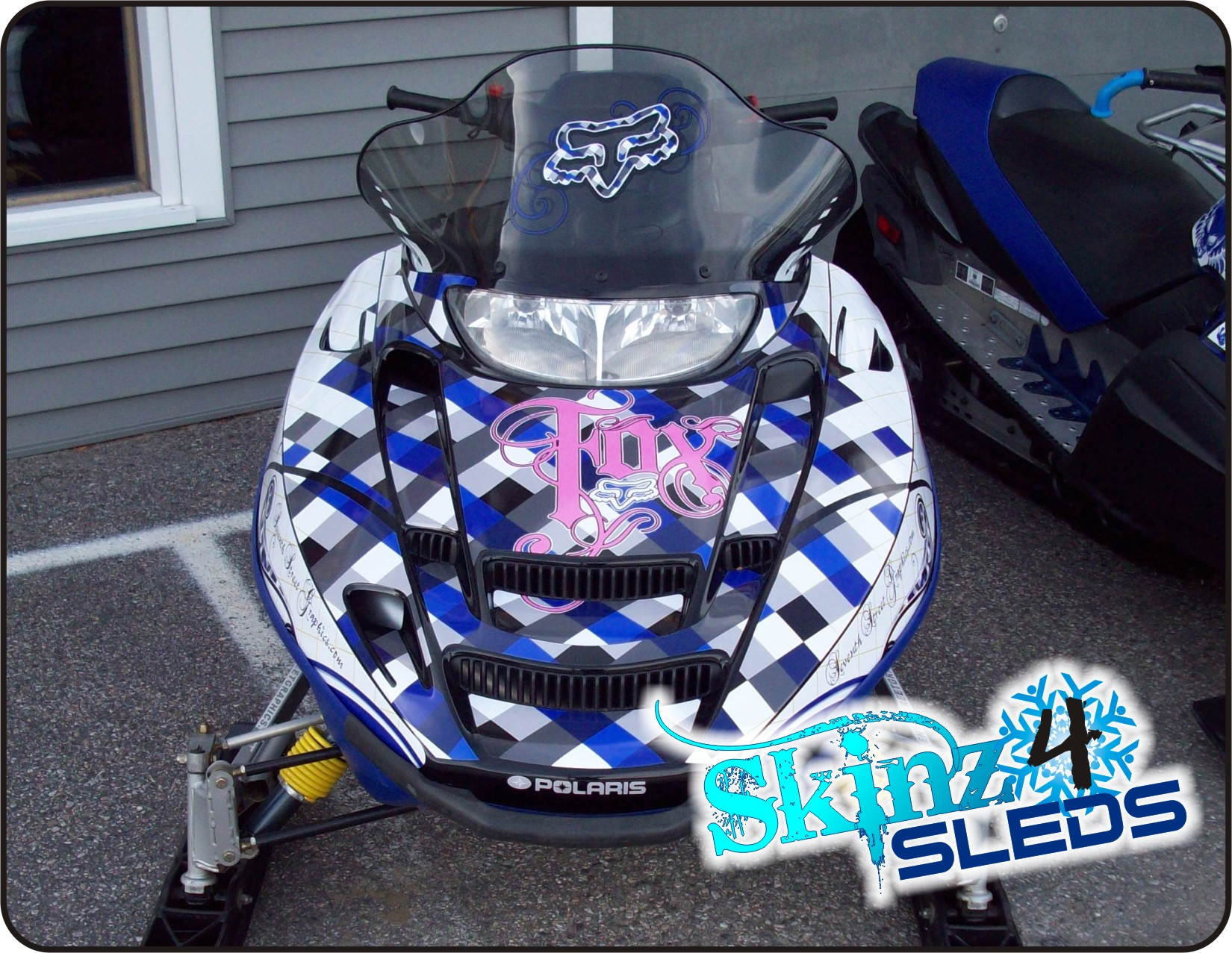 Sled Graphics by Seventh Street Graphics