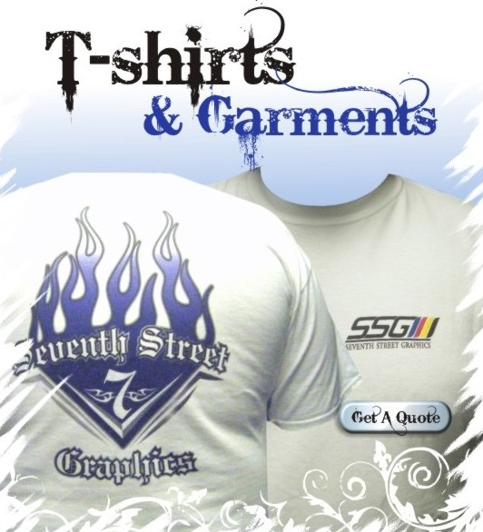 Seventh Street Graphics T-Shirt Quote Form