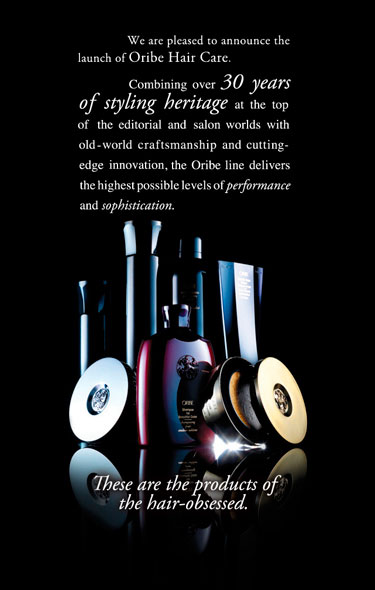 Stan Parente Salons Announcing New Product Line - Oribe Hair Care