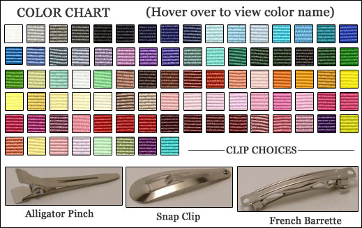 To view larger color chart