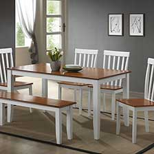 coastal dining room sets