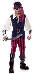 boys' cutthroat pirate costume