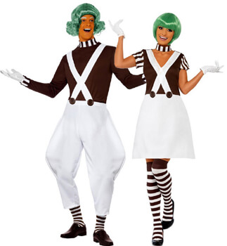 oompa loompa couple costumes