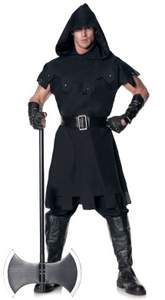 mens medieval executioner costume