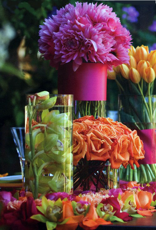 Elegant and visually appealing, these glass vases will help you create ...