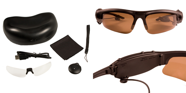 DVR sunglasses spy camera DVR281