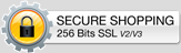 This shopping cart employs the highest industry strength security: 256-bit SSL