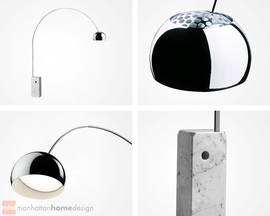 Manhattan Home Design Achille Castiglioni Arco Lamp Specifications