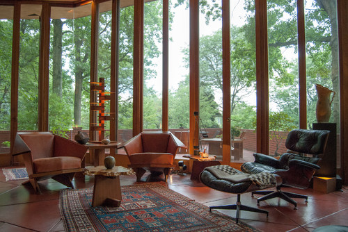For Elevated Outdoor Spaces Such As Balconies Verandas And Stoops The Eames Lounge Chair Replica Proves To Be A Sufficient Decorator