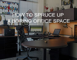 How to Spruce Up a Boring Office Space